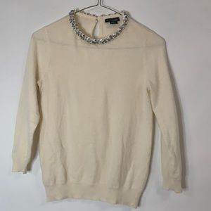C BY BLOOMINGDALES CASHMERE SWEATER SIZE S